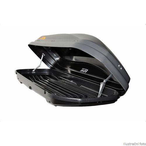 Střešní box Hakr Magic Line 350 (lesklý černý)