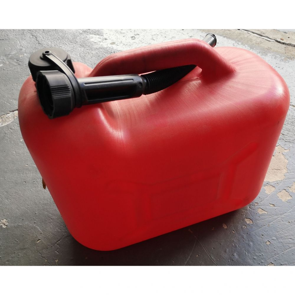 (Použitý) 20L kanystr plastový, červený